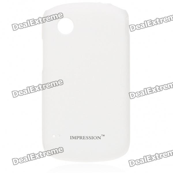 Protective PC Back Case w/ Screen Guards & Cleaning Cloth for ZTE N760 - White