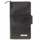 Fashion Multifunction Cow Leather Handbag Wallet + Card Holder with Strap