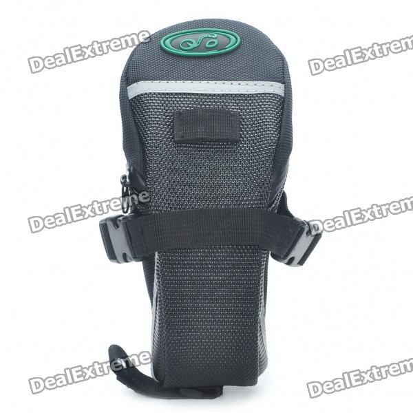 Cycling Bicycle Bike Saddle Seat Tail Bag - Black