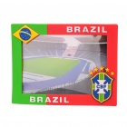 Stylish Soccer National Team Photo Frame - Brazil