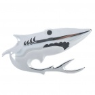 Decorative Cool 3D Shark Style Aluminum Alloy Badge Emblem Sticker for Car