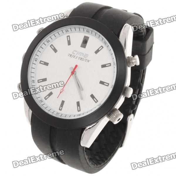 2.0MP USB Rechargeable Spy Pin-Hole Camera Camcorder Disguised as Wrist Watch (8GB)
