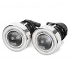 CCFL 55W 3000K 1200LM Car Angel Eyes Projector Fog Lamps (Pair/12V)