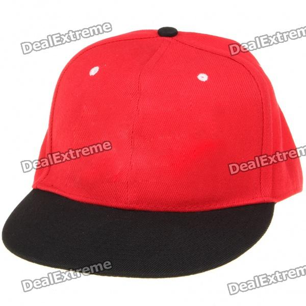 NBA Basketball Miami Heat Pattern Cotton Fabric Hat / Cap - Red