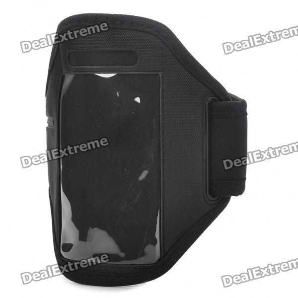Fashion Sports Gym Arm Band Case for Iphone 4/4S - Black