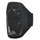 Fashion Sports Gym Arm Band Case für iPhone 4/4S - Schwarz