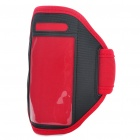 Fashion Sports Gym Arm Band Case for iPhone 4/4S - Red + Black