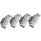 Gillette Mach 3 Replacement 3-Blade Razor Cartridges (4-Piece)