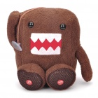 Cute Cartoon DOMO Plush Toy Style Mini Speaker - Coffee