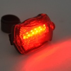 3-Mode White LED Bike Head Light Torch Flashlight + 7-Mode 5-LED Tail Red Light w/ Mount (5 x AAA)