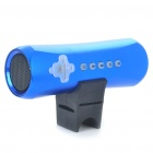 Outdoor Sports Rechargeable MP3 Music Speaker Player with FM/TF Slot - Blue