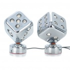 Dice Style Decorative Colorful LED Lights for Car (12V/Pair)