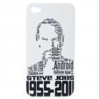 Remembering Steve Jobs Protective Plastic Back Case for iPhone 4
