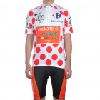 2011 Euskadi Team Short Sleeve Cycling Bicycle Bike Riding Suit Jersey + Shorts Set (Size-M)