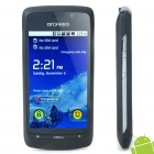 "A8 3,5 ""Touch Screen Android 2.2 Dual SIM Quadband Smartphone w / GPS + TV + WiFi - Black"