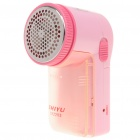 Rechargeable Sweater Fabric Clothes Shaver Fuzz Pill Lint Remover - Pink (220V)