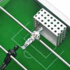 Portable Mini Metal Soccer Football Table Game