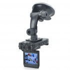 "5MP Wide Angle Car DVR Camcorder w/ 6-LED IR Night Vision/AV-Out/HDMI/TF Slot (2.0"" LCD)"