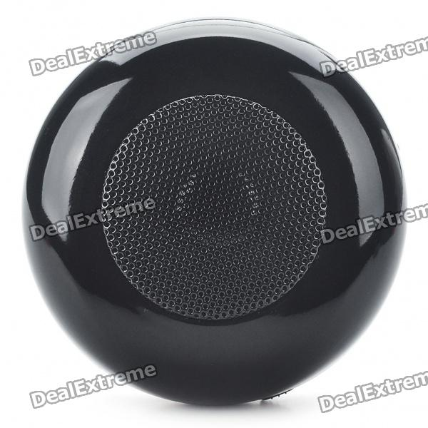 Rechargeable Wireless Bluetooth V2.0 Music Speaker Player with TF Slot - Black от DX.com INT
