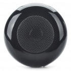 Rechargeable Wireless Bluetooth V2.0 Music Speaker Player with TF Slot - Black