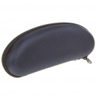 Protective Hard Zipper Case for Glasses - Dark Blue