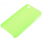 Mesh Protective PC Back Case for Iphone 4/4S - Green