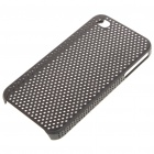 Mesh Protective PC Back Case for Iphone 4/4S - Black