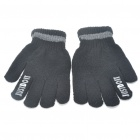 Stylish Warm Cotton Gloves - Random Color (Pair)