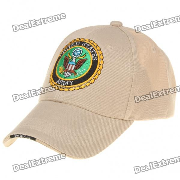Gestickte US Army Pattern Cotton Fabric Baseball-Mütze / Cap (Random Color)