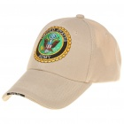 Embroidered US Army Pattern Cotton Fabric Baseball Hat/Cap (Random Color)