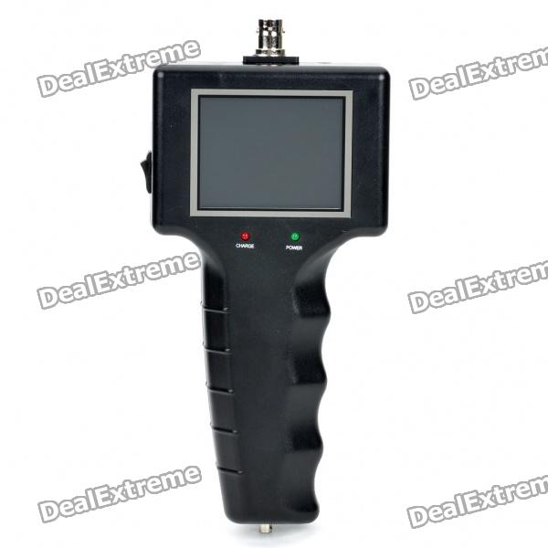 2.5 TFT LCD CCD Camera Detector professional deep search metal detector goldfinder underground gold high sensitivity and lcd display metal detector finder