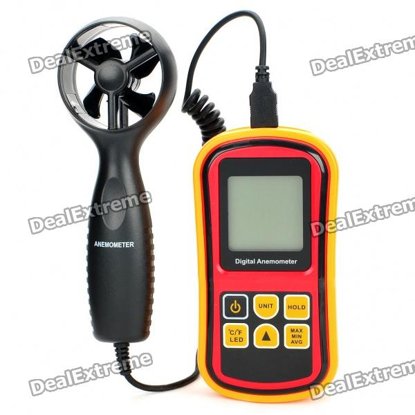 GM8901 2.1 LCD Digital Wind Speed Meter Anemometer (1 x 9F) бур садовый зубр 39491