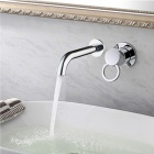 Single Control Wall-mount Chrome Faucet