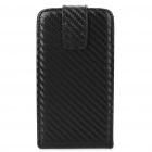 Protective PU Leather Cover PC Case for LG P970 - Black