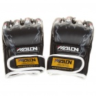 Professional Training Boxhandschuh - Black + White (Paar)