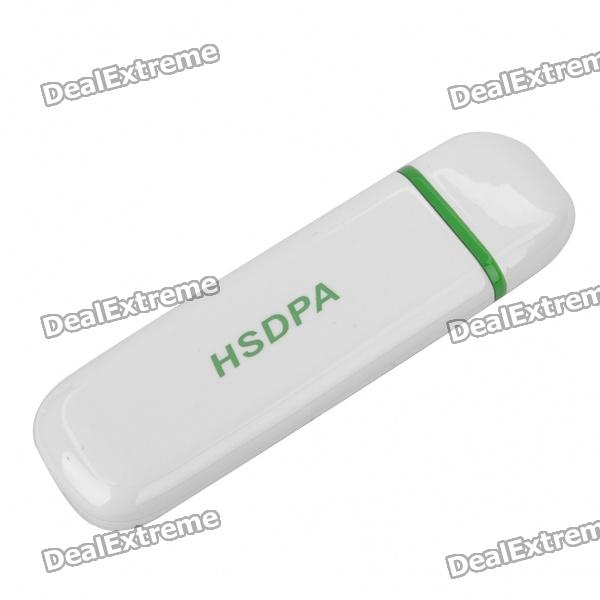 7.2Mbps WCDMA HSDPA USB 2.0 Wireless Quadband GSM/GPRS/EDGE Modem Adapter with TF Card Slot