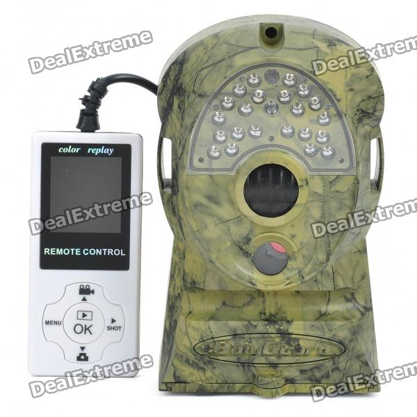 Digitale 5MP Infrared Sensor SD Card Scouting Camera w / Remote Control - Camouflage Erde Farbe
