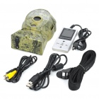 Digital 5MP Infrared Sensor SD Card Scouting Camera w / Remote Control - Camouflage Earth Color