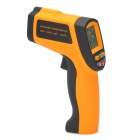 "1.5"" LCD Digital Infrared Thermometer - Yellow + Black"