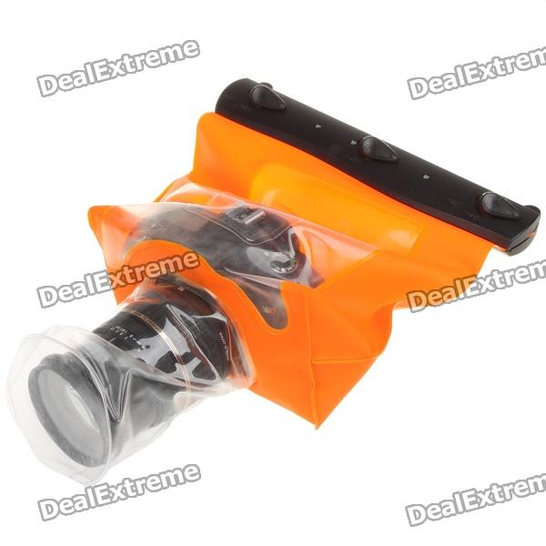 30-Meter Waterproof Housing Case Jacket with Strap for Digital Camera