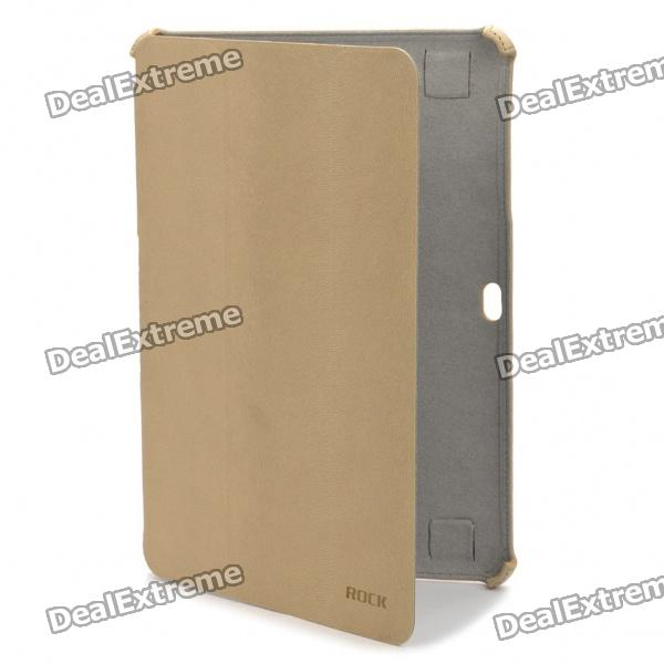 ROCK Protective PU Leather Case for Samsung Galaxy Tab P7510 P7500 - Off White
