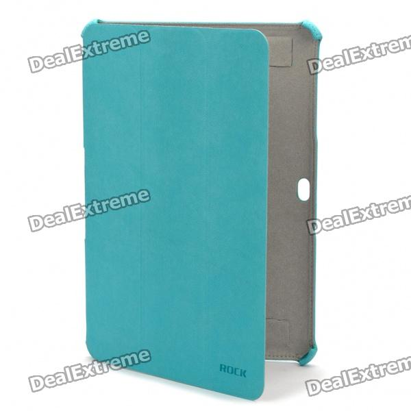 ROCK Protective PU Leather Case for Samsung Galaxy Tab P7510 P7500 - Green