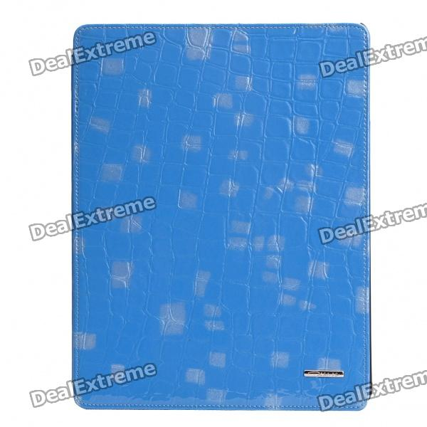 Ultradünne Protective Leather Case für iPad 2 - Blue