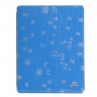 Ultrathin Protective Leather Case for Ipad 2 - Blue