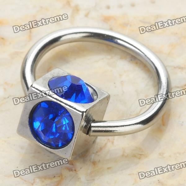 316L Surgical Steel Multifunction Body Piercing Ring - Random Color от DX.com INT