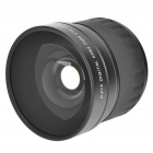 52mm 0.21X Super Wide Angle Fish Eye Objektiv w / 49mm Adapter Ring