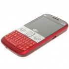"Q5I 2.3"" LCD Screen Triple SIM 3-Network Standby Quadband TV Cell Phone w/ Wi-Fi + JAVA - Red"