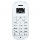 "0.95"" OLED Bluetooth V2.1 Handsfree Headset - White (10-Hour Talk/200-Hour Standby)"