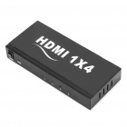 1-In 4-Out Ports HDMI Splitter (AC 100~240V)