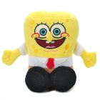 Cute Plush Sponge Bob Squarepants Doll Style Stereo Speaker (3 x AA)